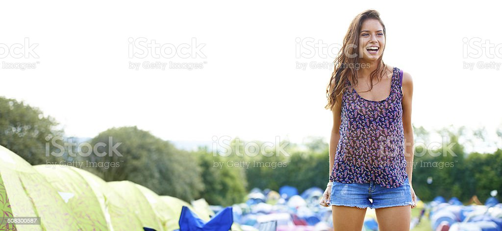 The best kind of fun is had when you're outdoors stock photo