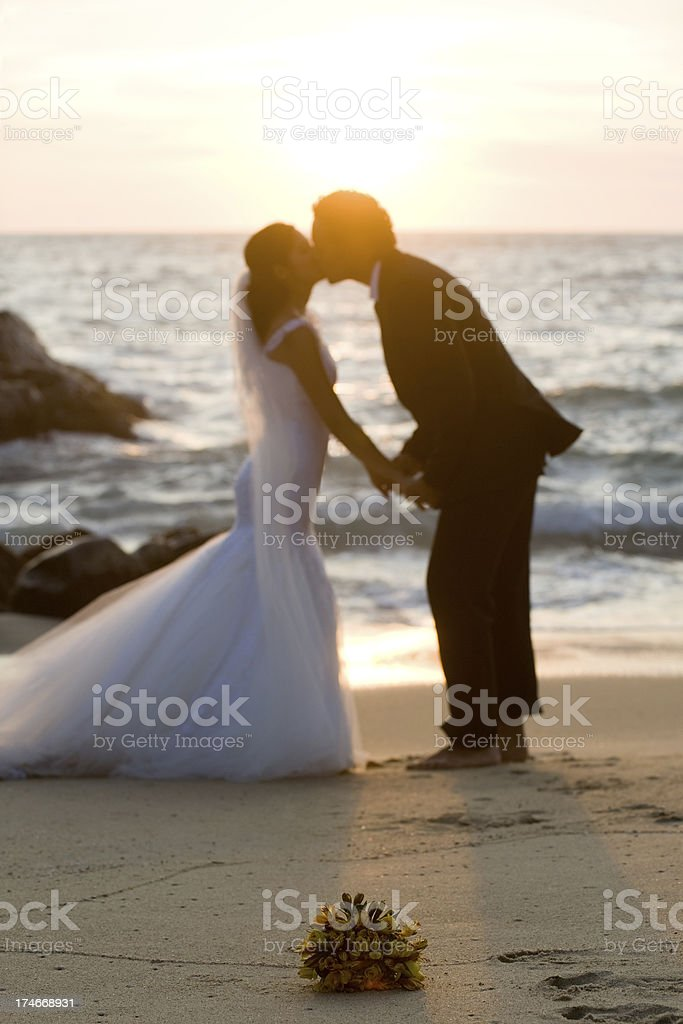 The best kiss ever! royalty-free stock photo