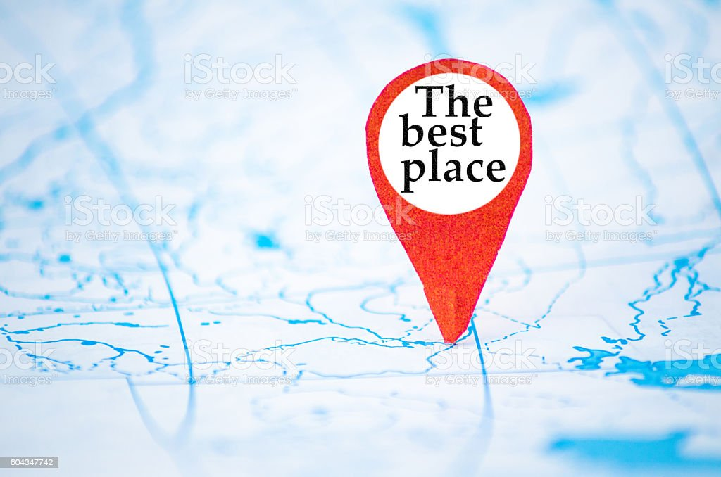 the best place stock photo