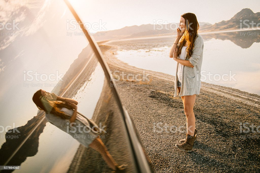The Best Road Trip stock photo
