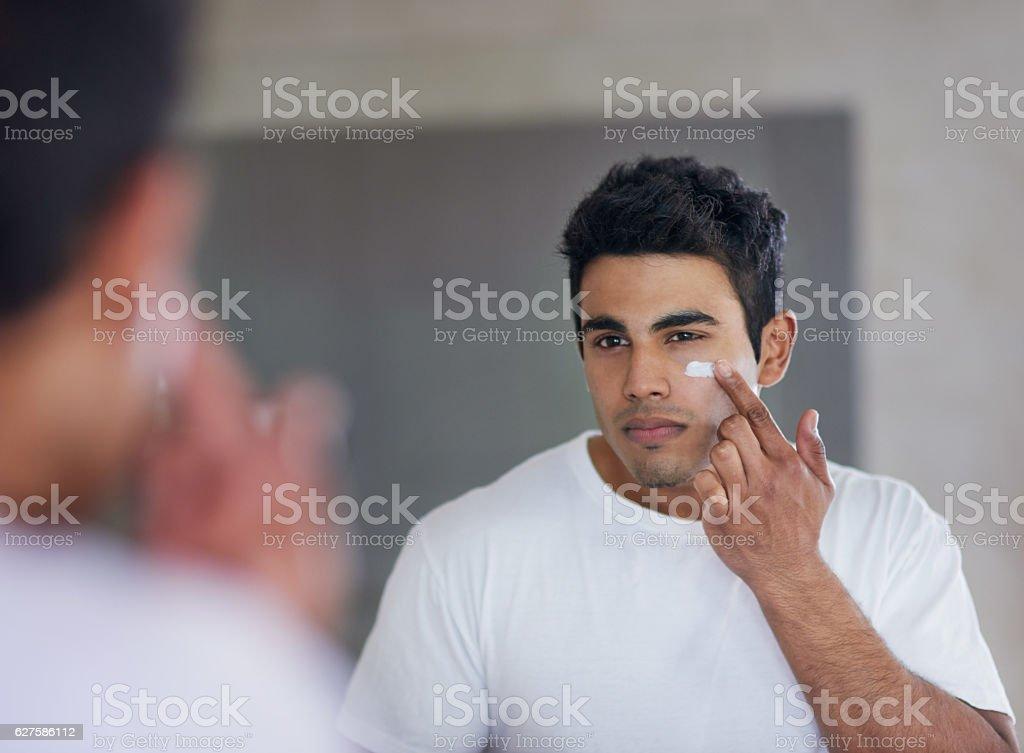 The best skincare product for maximum moisturising stock photo