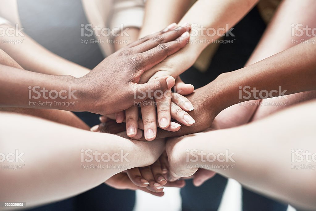 The best support network stock photo