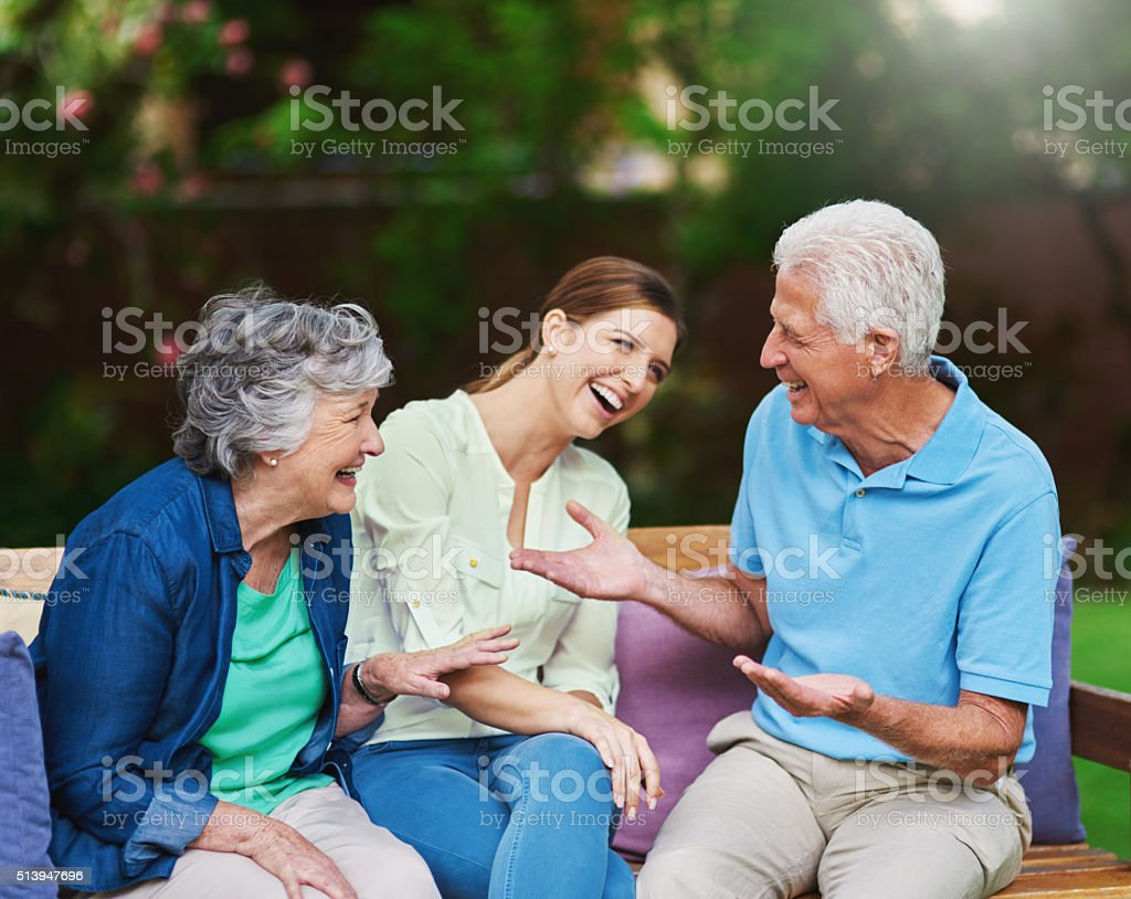 The best things in life aren't things stock photo