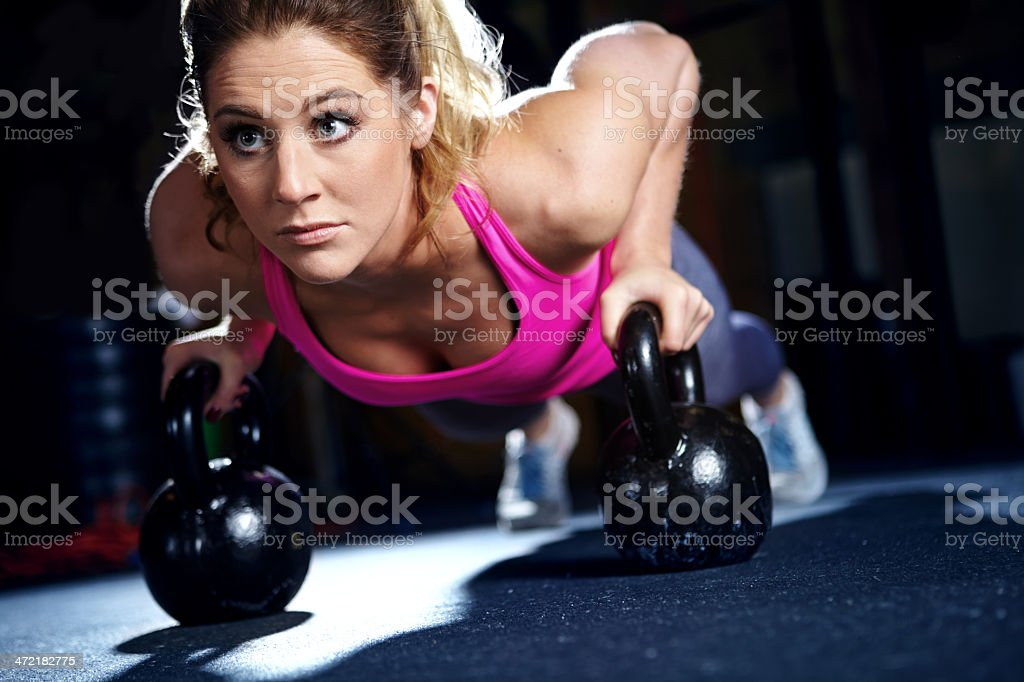 The best way to get firm and fit royalty-free stock photo