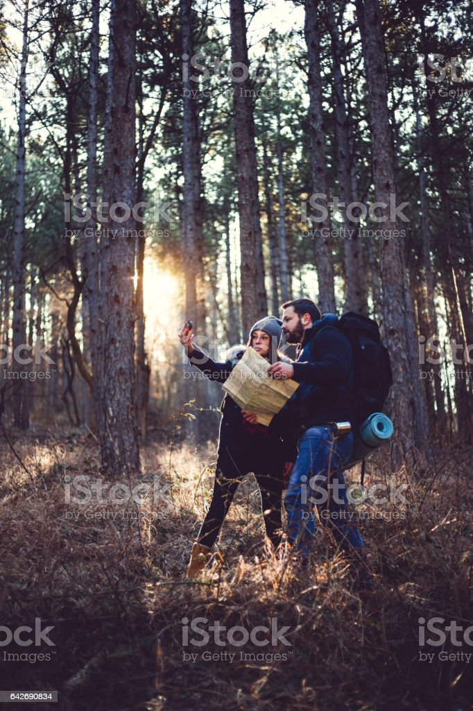The Best Way To Spend Your Leisure Time Is Camping stock photo