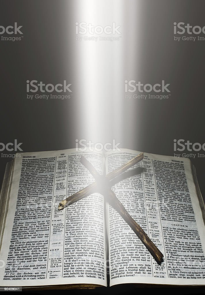 The Bible royalty-free stock photo