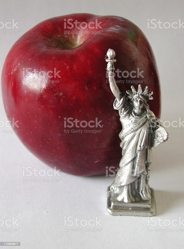 The Big Apple royalty-free stock photo