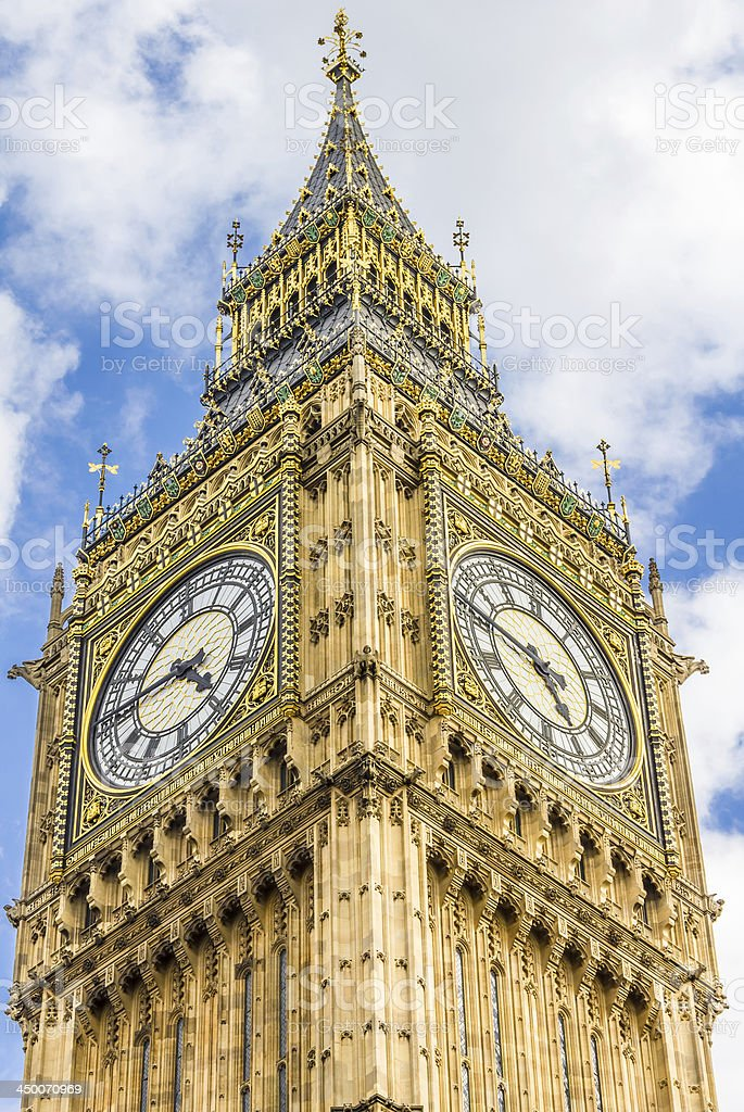 The Big Ben, London stock photo