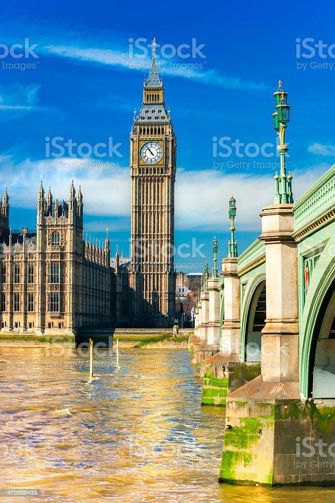 Der Big Ben, London, Vereinigtes Königreich. – Foto