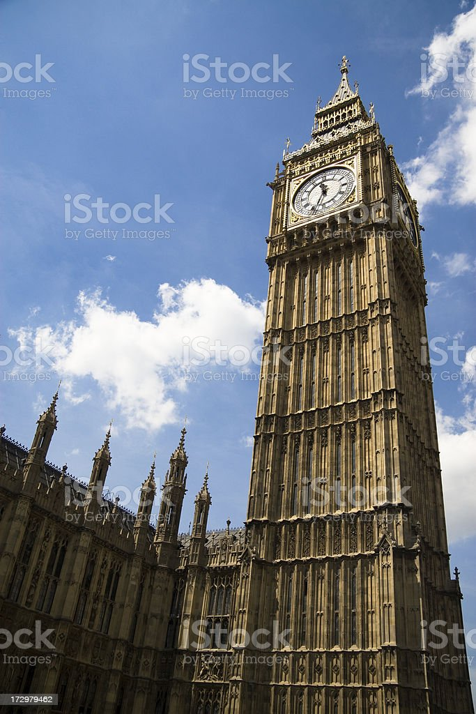 The Big Ben royalty-free stock photo