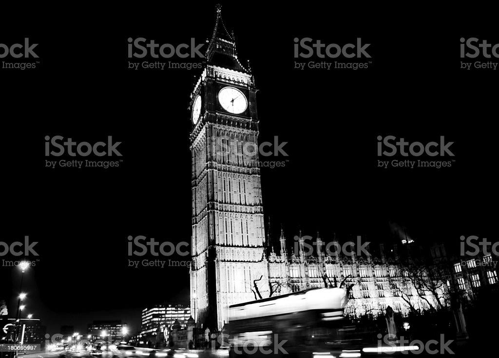 The Big Ben royalty-free stock photo