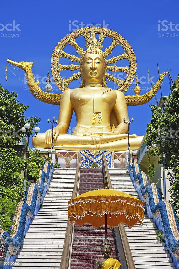 the big buddha temple at Koh Samui, Thailand royalty-free stock photo