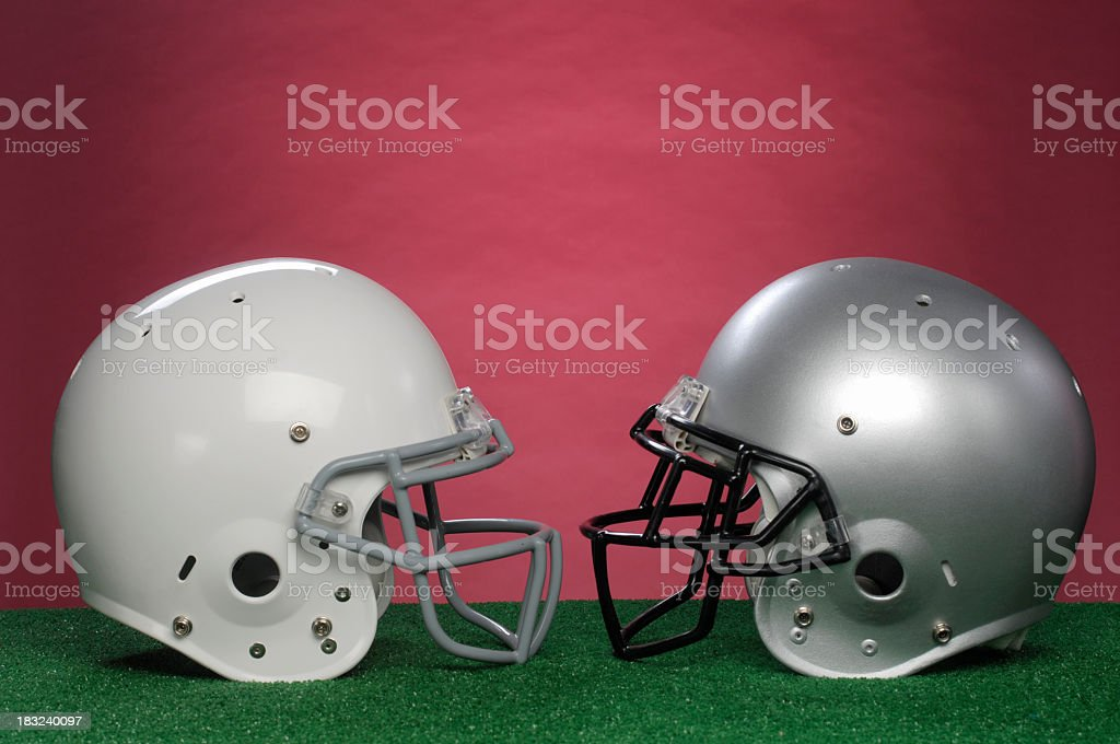 The Big Game royalty-free stock photo