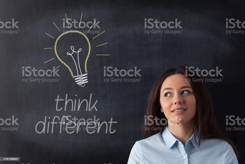 The Big Idea stock photo