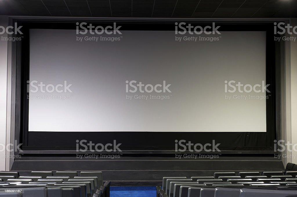 The Big Screen stock photo