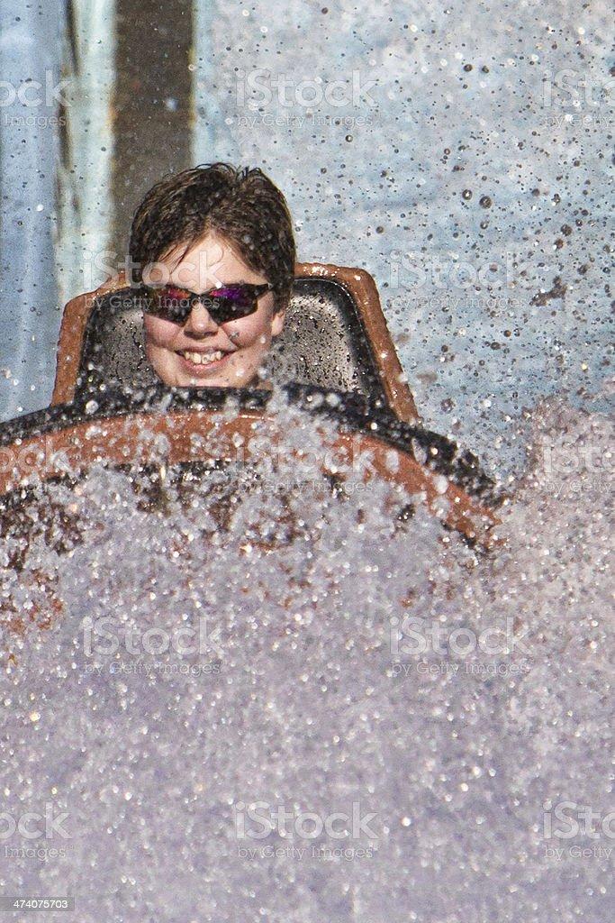 The Big Splash stock photo