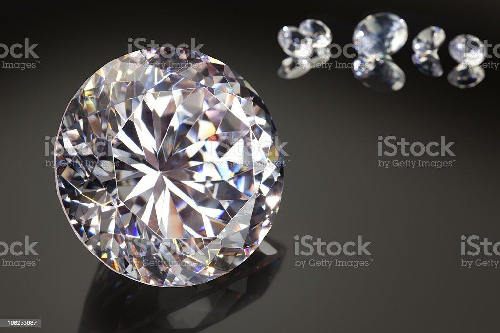 The Biggest, Brightest Diamond of Them All stock photo