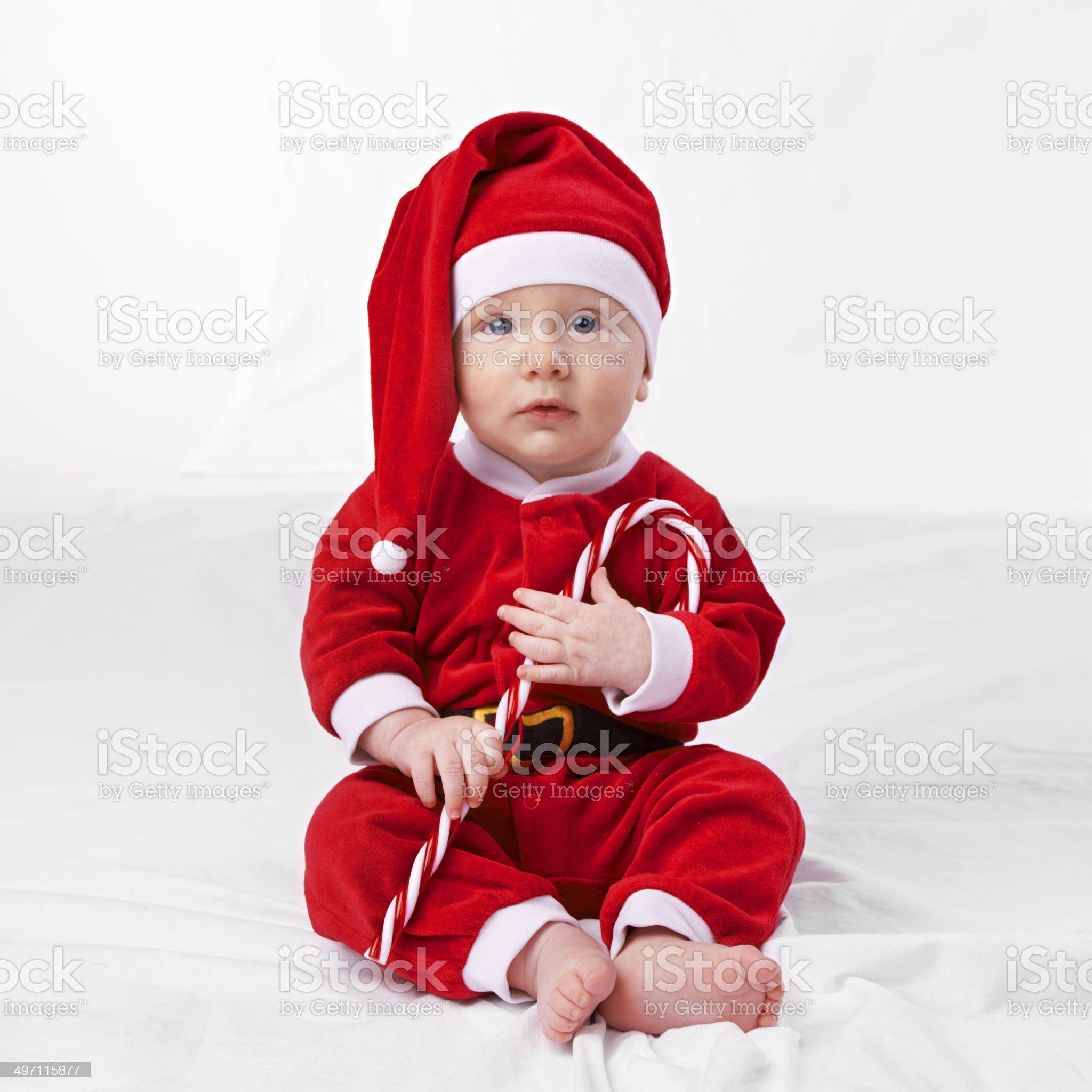 The biggest bringer of joy on any Christmas royalty-free stock photo