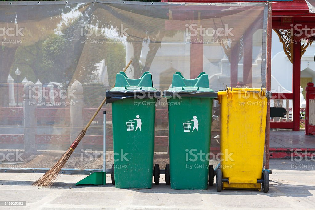 the bin stock photo