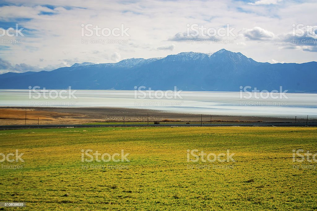 The bitter lake royalty-free stock photo
