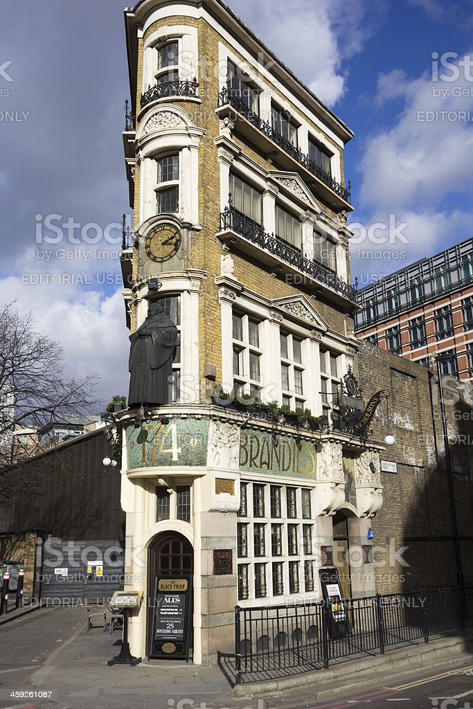 The Blackfriar in London, England royalty-free stock photo