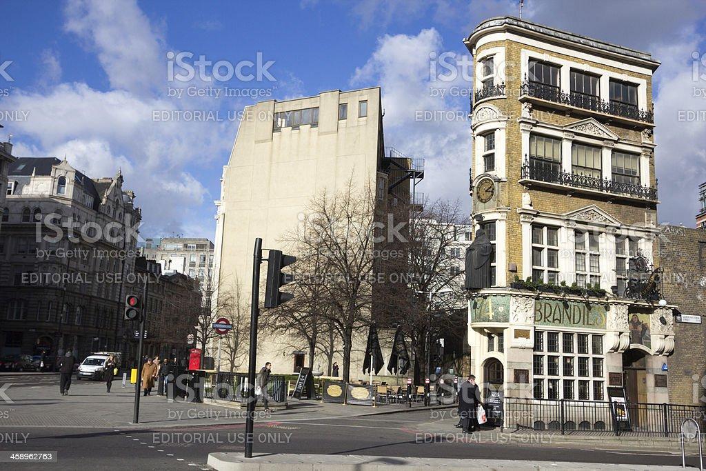 The Blackfriar Pub in London, England royalty-free stock photo