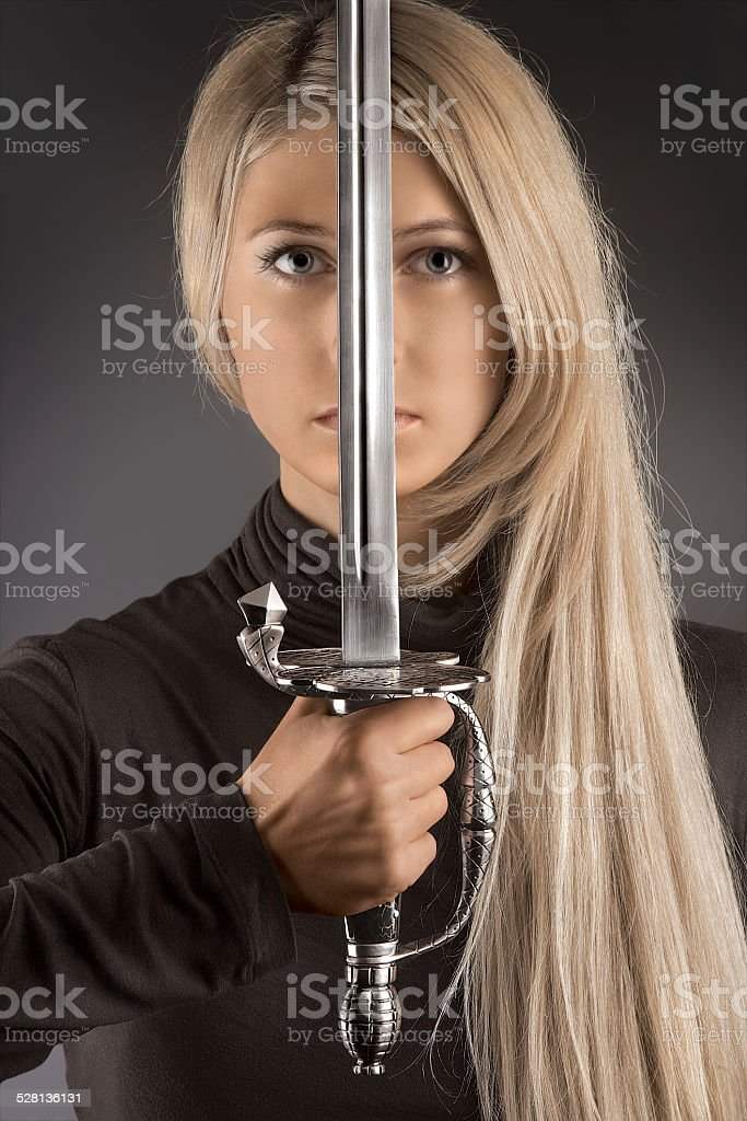 The blade of fashion. stock photo