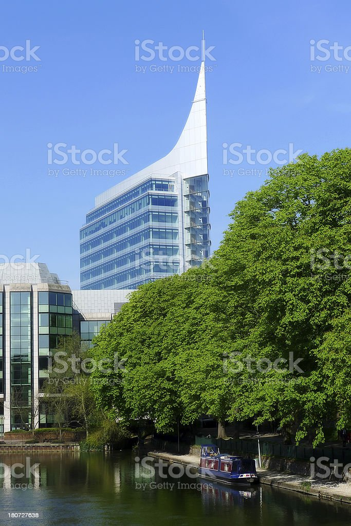 The Blade Office Building Reading stock photo