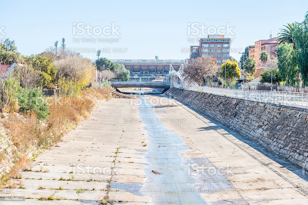 The Bloemspruit (Bloem-stream) stock photo