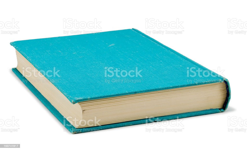 The blue book royalty-free stock photo