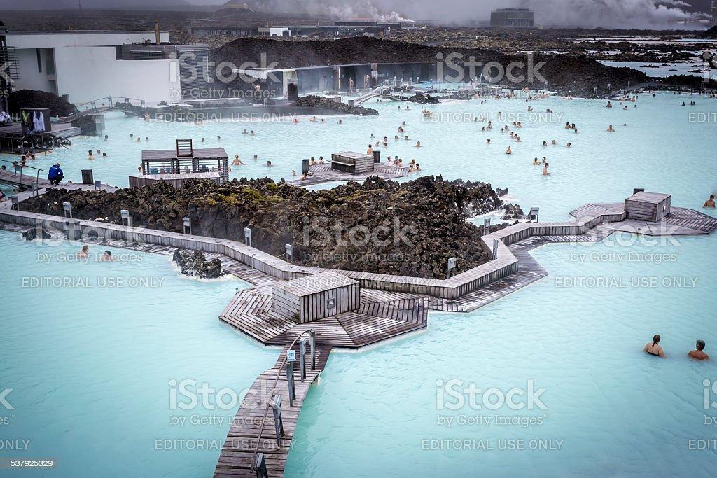 The Blue Lagoon, Iceland stock photo