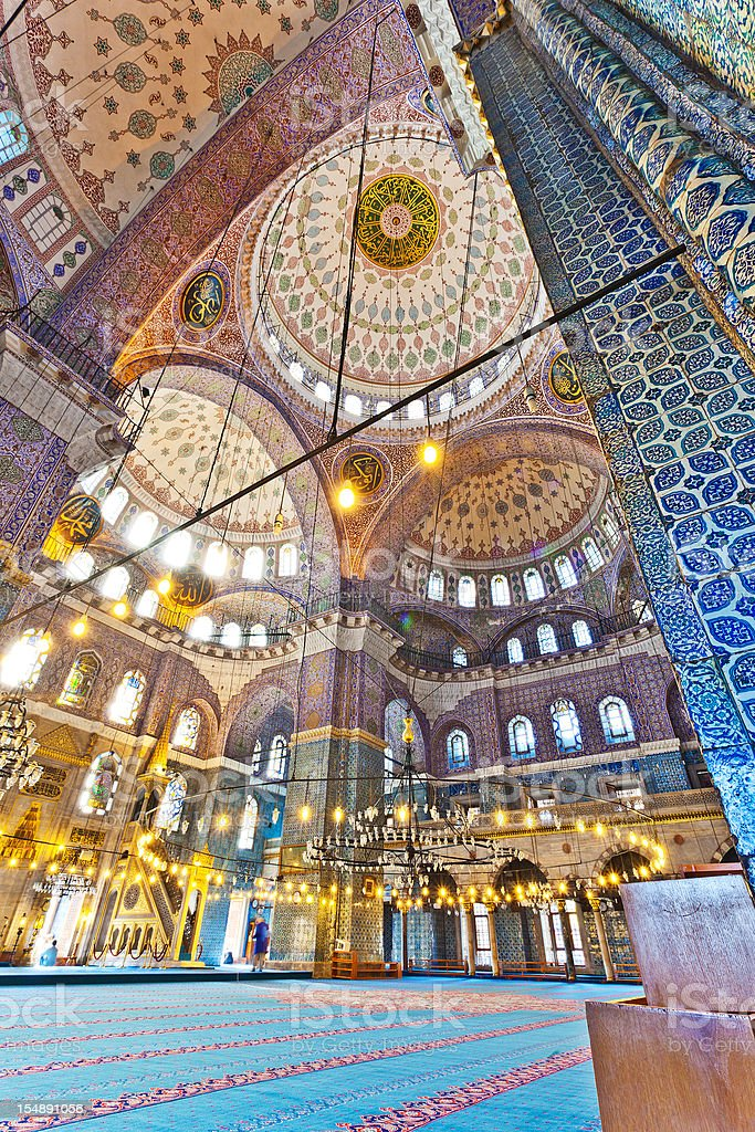 The Blue Mosque In Istanbul, Turkey royalty-free stock photo