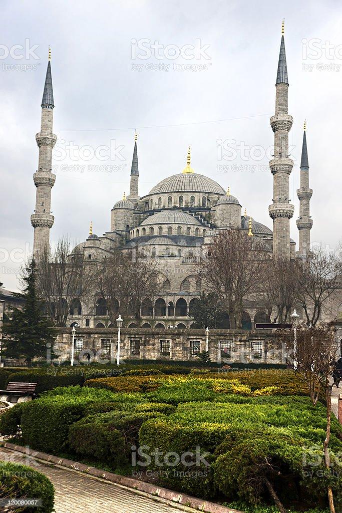 Die Blaue Moschee Sultan-Ahmet-Viertel ein, Istanbul, Türkei. – Foto