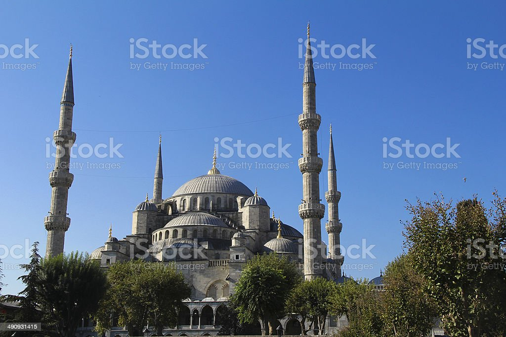 The Blue Mosque - Istanbul, Turkey royalty-free stock photo