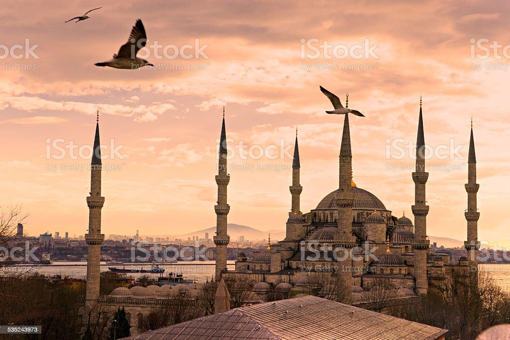 Die Blaue Moschee, Istanbul, Türkei. – Foto