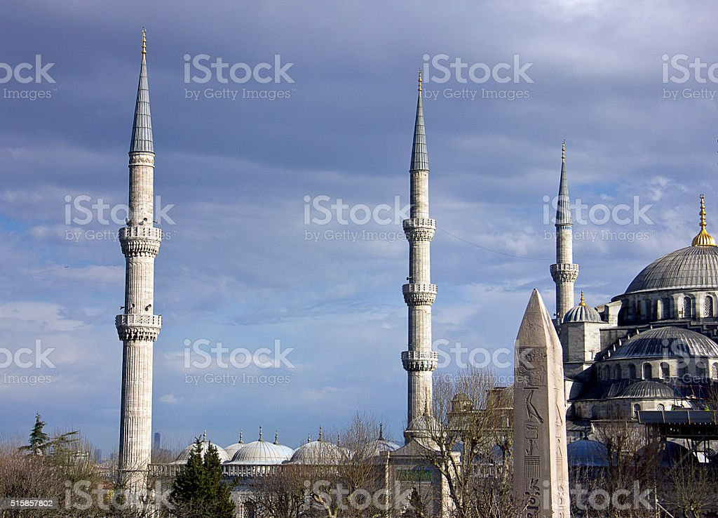 The Blue Mosque stock photo
