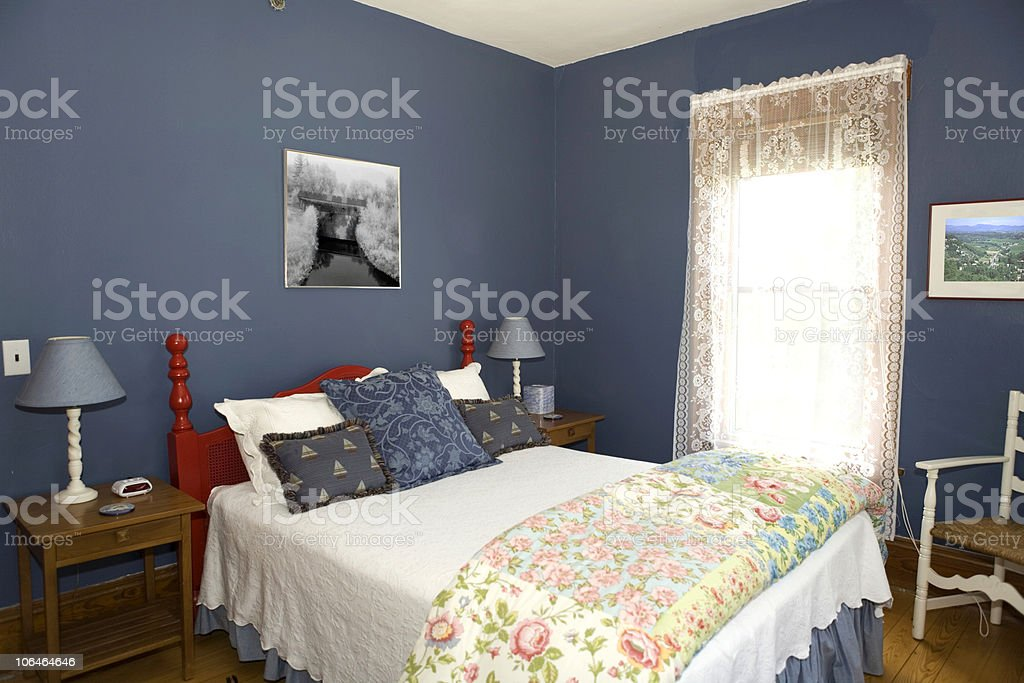 The Blue Room royalty-free stock photo