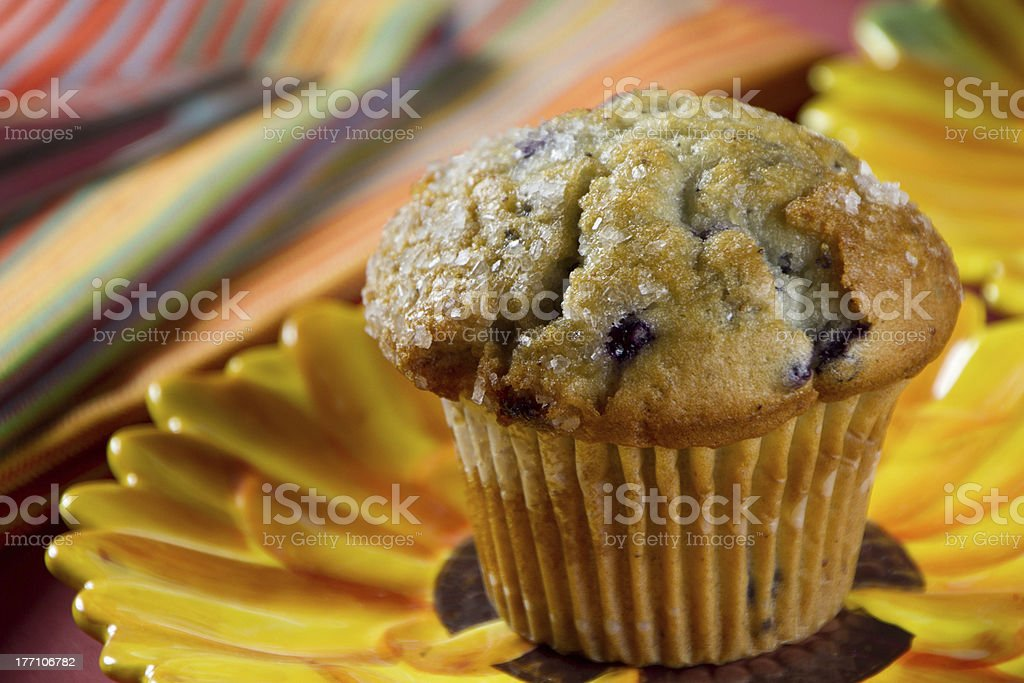 The Blueberry Muffin royalty-free stock photo