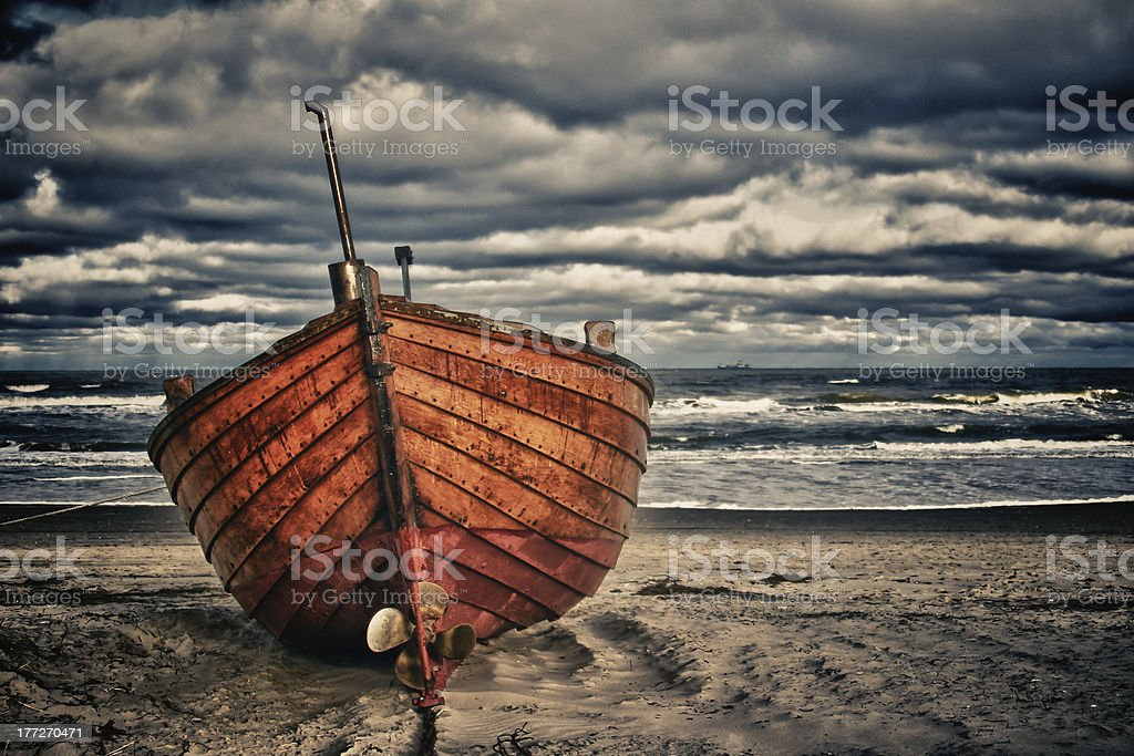 the boat royalty-free stock photo