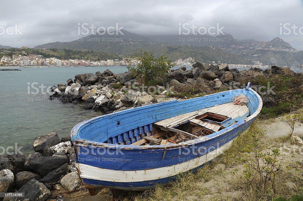 The boat royalty-free stock photo