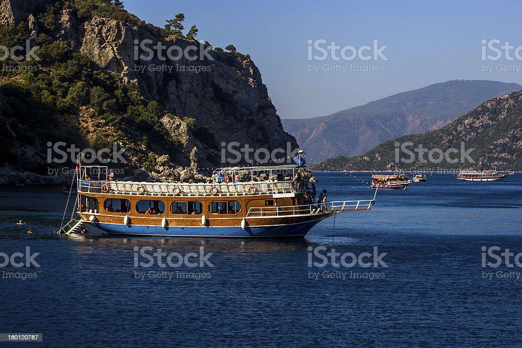 The Boats of Marmaris royalty-free stock photo