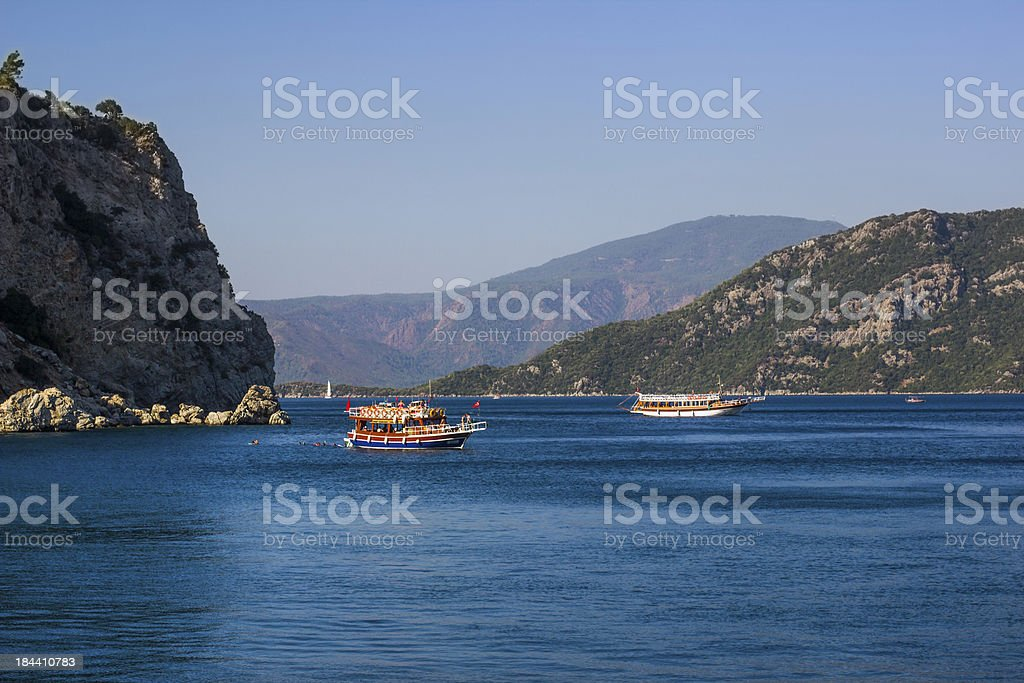 The Boats of Marmaris royalty-free stock photo