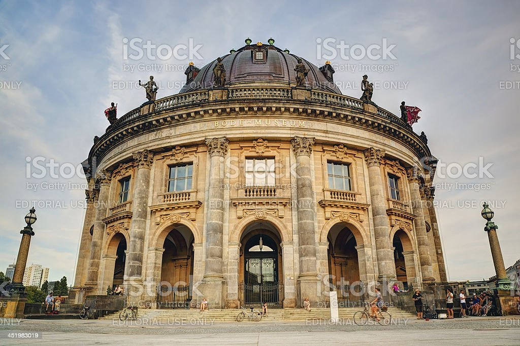 The Bode Museum, Berlin, Germany royalty-free stock photo