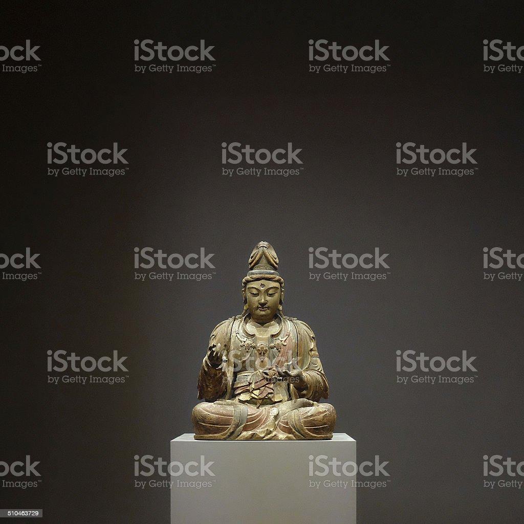 The Bodhisattva Guanyin stock photo