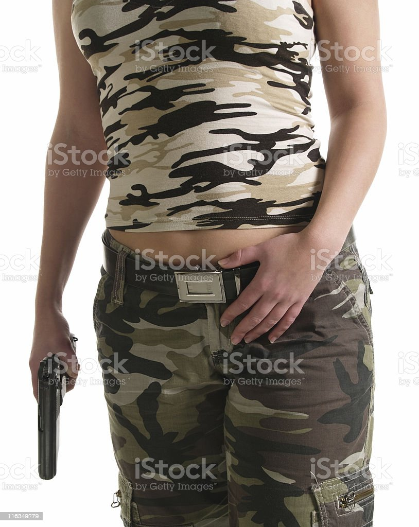The body of a woman royalty-free stock photo