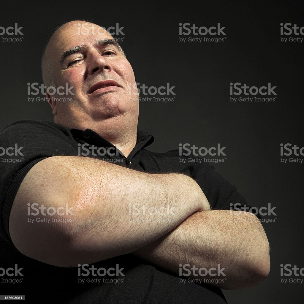 the bodyguard royalty-free stock photo