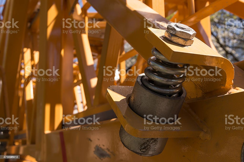 The bolt royalty-free stock photo