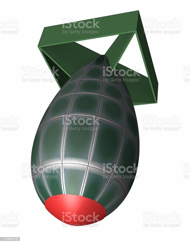 The Bomb stock photo