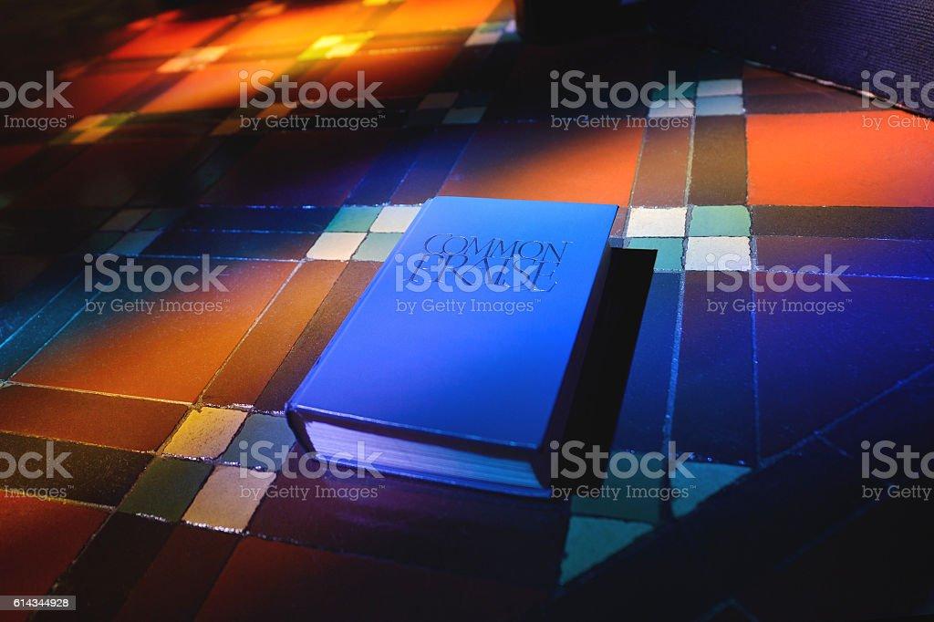 The Books of COMMON PRAISE stock photo