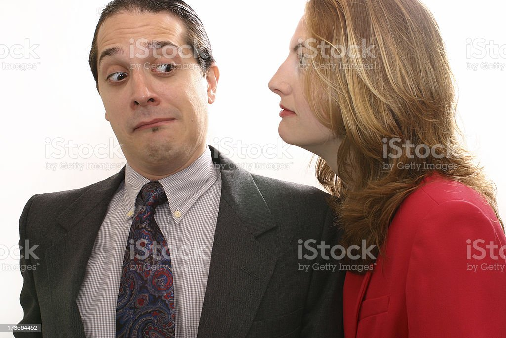 The Boss Is Watching royalty-free stock photo